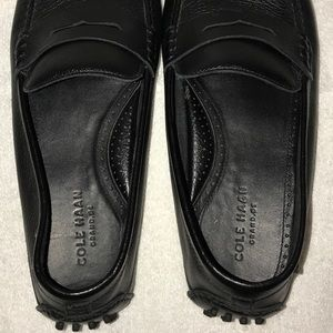 Cole Haan Shoes - Cole Haan Black Grant Canoe Penny Loafers Size 12